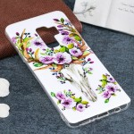 For Samsung Galaxy S9+ Noctilucent Sika Deer Pattern TPU Soft Back Case Protective Cover, Small Quantity Recommended Before Sams