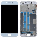 iPartsBuy OPPO R9s LCD Screen (TFT) + Touch Screen Digitizer Assembly with Frame(White)