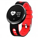 Q7 0.95 inch HD OLED Screen Display Bluetooth Smart Bracelet, IP68 Waterproof, Support Pedometer / Sedentary Reminder / Heart Rate Monitor / Sleep Monitor, Compatible with Android and iOS Phones(Red)