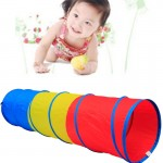 3-Color Crawling Tunnel Outdoor and Indoor Toy Tube Children Play Crawling Games Access