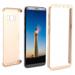 For Samsung Galaxy S8 + / G955 360 Degrees Full Coverage Detachable Protective Cover Case (Gold)