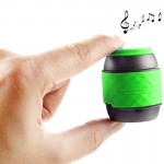Mobile Portable Hands-free & NFC Bluetooth Stereo Speaker(Green)