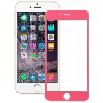 iPartsBuy for iPhone 6 Plus Front Screen Outer Glass Lens(Pink)