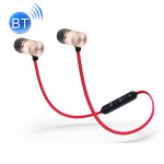BTH-838 Stereo Sound Quality Magnetic Absorption V4.1 Bluetooth Sports Headset, Bluetooth Distance: 10m, For iPad, iPhone, Galax