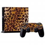 Leopard Pattern Decal Stickers for PS4 Game Console