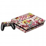 Cartoon Character Pattern Decal Stickers for PS4 Game Console