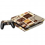 Machine Pattern Decal Stickers for PS4 Game Console