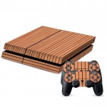 Wood Texture Decal Stickers for PS4 Game Console