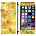 Groundcherry Herb Pattern Mobile Phone Decal Stickers for iPhone 6 & 6S