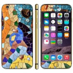 Splicing Pattern Mobile Phone Decal Stickers for iPhone 6 & 6S
