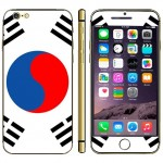 Flag Pattern Mobile Phone Decal Stickers for iPhone 6 Plus & 6S Plus