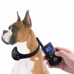 PD520V Automatic Anti Barking Collar Pet Training Control System for Dogs(Black)