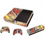 UK Flag Pattern Decal Stickers for Xbox One Game Console