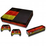 Germany Flag Pattern Decal Stickers for Xbox One Game Console