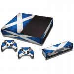 Scottish Flag Pattern Decal Stickers for Xbox One Game Console