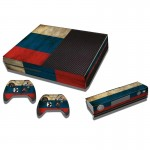 Russian Flag Pattern Decal Stickers for Xbox One Game Console