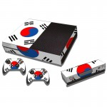 Flag Pattern Decal Stickers for Xbox One Game Console