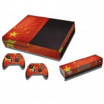 Chinese Flag Pattern Decal Stickers for Xbox One Game Console