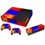 Mongolian Flag Pattern Decal Stickers for Xbox One Game Console