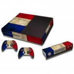 Dutch Flag Pattern Decal Stickers for Xbox One Game Console