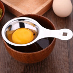 SSGP Stainless Steel Egg Yolk Separator Protein Dividers Spoon with Logo