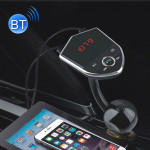Bluetooth FM Transmitter Wireless In-Car Radio Adapter Music Player Hands-Free Calling Car Kit, Dual USB Charger, Support Blueto