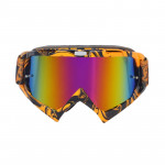 Motorcycle Parts Goggles Ski Goggles Outdoor Windproof Glasses(Gold)