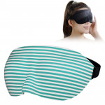 Home and Travel Sleeping Eye Mask Eyepatch with Adjustable Strap(Green)