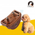 PD258 Automatic Anti Barking Collar Pet Training Control System for Dogs, S Size(Coffee)