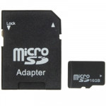 [HK Stock] 16GB High Speed Class 4 Micro SD(TF) Memory Card from Taiwan, Write: 8mb/s, Read: 12mb/s (100% Real Capacity)