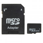 [HK Stock] 64GB High Speed Class 10 Micro SD(TF) Memory Card from Taiwan, Write: 11mb/s, Read: 15mb/s (100% Real Capacity)