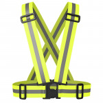 Night Riding Running Reflective Safety Vest (Neon Green)