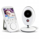 VB605 2.4 inch LCD 2.4GHz Wireless Surveillance Camera Baby Monitor, Support Two Way Talk Back, Night Vision (White)