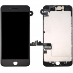 iPartsBuy 4 in 1 for iPhone 8 Plus (Front Camera + LCD + Frame + Touch Pad) Digitizer Assembly(Black)