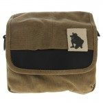 Universal Camera Bag, Inside Size: approx. 200mm x 115mm x 100mm(Brown)