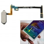 Home Button Flex Cable with Fingerprint Identification Function for Samsung Galaxy Note 4 / N910(Grey)