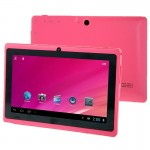 7.0 inch Android 4.0 Tablet PC 8GB, CPU: Allwinner A33 Quad Core 1.5GHz(Pink)