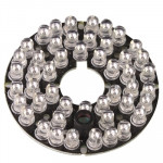 LED Infrarouge caméra pour la CCD, distance d'IR: 40m Carte de lampe de 48 5mm - Wewoo