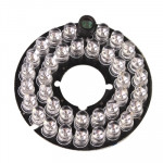 LED Infrarouge caméra pour la CCD, distance d'IR: 30m Carte de lampe de 36 5mm - Wewoo