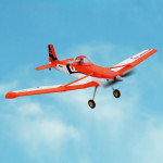 Dynam DY8967PNP Cessna 188 Crop Duster 1500mm Wingspan RC Trainer Plane Model Airplane, PNP Version (Orange)