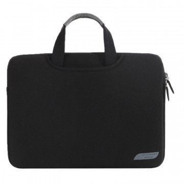 15.6 inch Portable Air Permeable Handheld Sleeve Bag for Laptops, Size: 41.5x30.0x3.5cm(Black)