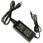 EU Plug 12V 5A 60W AC Power Supply Unit with 5.5mm DC Plug for LCD Monitors Cord, Output Tips: 5.5x2.5mm