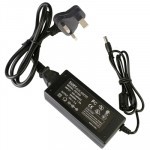 UK Plug 12V 5A 60W AC Power Supply Unit with 5.5mm DC Plug for LCD Monitors Cord, Output Tips: 5.5x2.5mm