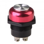 Push Start Ignition Switch for Racing Sport (DC 12V), Electroplated Red