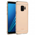 MOFI for Samaung Galaxy S9 Detachable Three-piece Full Coverage Hard PC Protective Back Case (Gold)