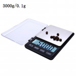 XY-8007 3.5 inch Display High Precision High Quality Electronic Scale (0.1g~3000g), Excluding Batteries