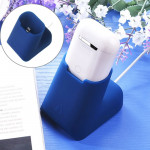 For Apple AirPods Creative Wireless Bluetooth Earphone Silicone Charging Box Charging Seat (Earphone is not Included), Size: 5.1