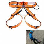 Climbing Harness Safe Seat Belt for Rock High Level Caving Climbing Adjustable Rappelling Equipment Half Body Guard Protect(Oran