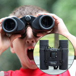 Maifeng 8x21 High Definition High Times Outdoor Mini Binoculars Telescope (Black)
