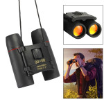 30x60 Night-vision High Definition High Times Outdoor Binoculars Cherry Blossoms Telescope